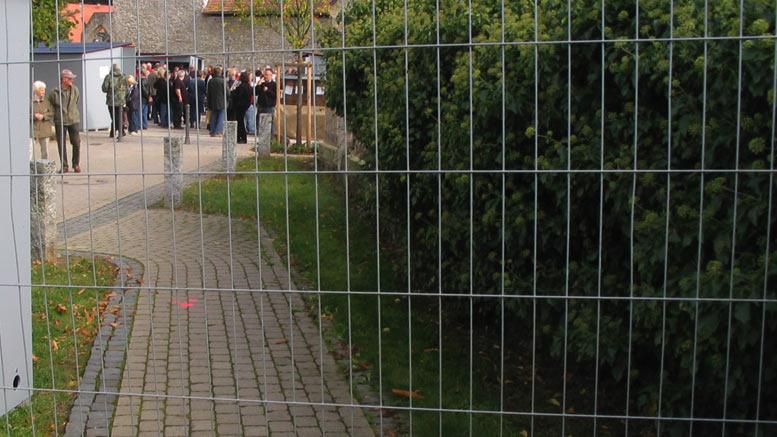 Klostermarkt: Wir müssen draußen bleiben!